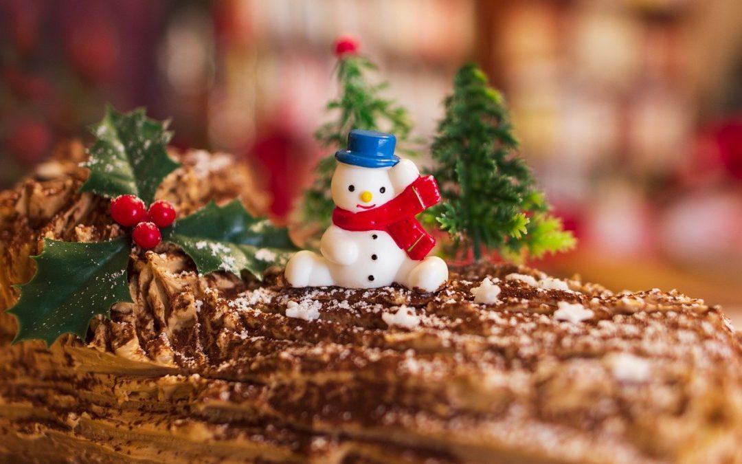 Recette de la bûche de Noël aux poires